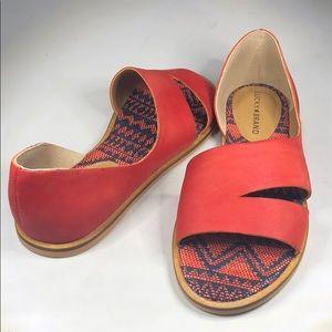 (p271) Women's Lucky Brand Flat Sandal, Size 8 M